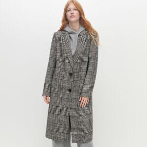 Reserved - Kockovaný kabát - Viacfarebná