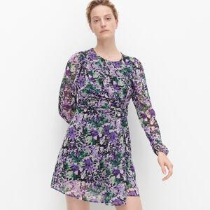 Reserved - Šaty s kvetinovým vzorom - Viacfarebná