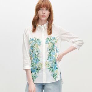 Reserved - Košeľa s kvetinovou potlačou -