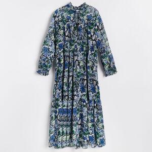Reserved - Pásikavé šaty - Viacfarebná