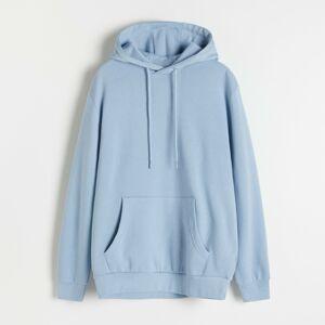 Reserved - Mikina s kapucňou - Modrá