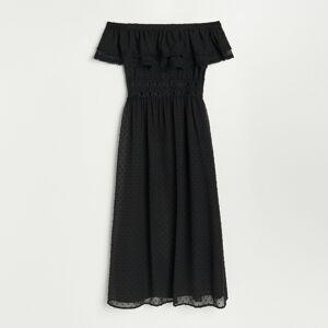Reserved - Dámske šaty - Čierna
