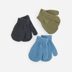 Reserved - Kojenecke rukavice - Modrá
