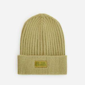 Reserved - Pletená čiapka - Béžová