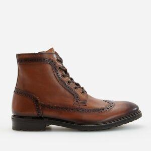 Reserved - Pánska členková obuv-vychádzková obuv - Bordový