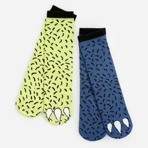 Reserved - Boys` socks multi - Zelená