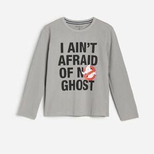Reserved - Tričko s potlačou Ghostbusters - Šedá