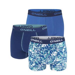 O'NEILL - 3PACK palm navy blue boxerky z organickej bavlny-XXL (103-108 cm)