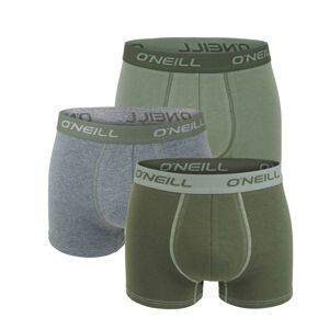 O'NEILL - 3PACK agave army green boxerky-L (89 - 95 cm)