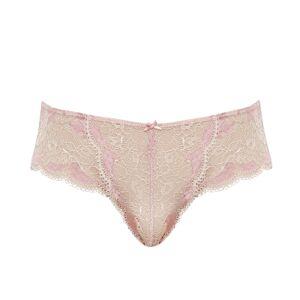 PANACHE - Clara pink champagne nohavičky-S