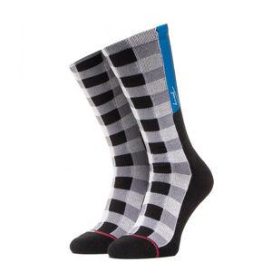 TOMMY HILFIGER - Tommy jeans black tape ponožky -39-42